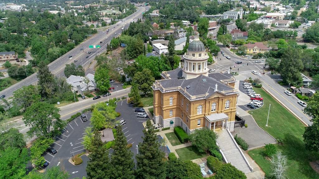drone architecture photography auburn california